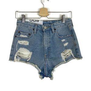NWT BDG Cheeky Super High Rise Cut Off Jean Shorts